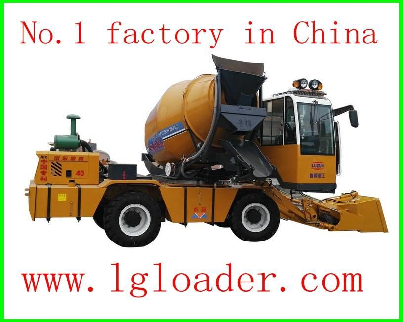 [Other] LUGONG self loading concrete mixer